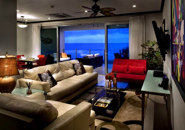 2 bedroom ocean front condo at Diamante del Sol