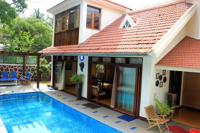 4 BHK villa with private pool