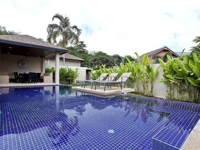 Tub Tim Villa | Classy 3 Bed Pool House in Nai Harn Phuket