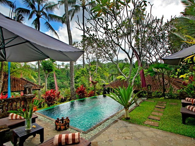 2 Bedroom Villa in a Natural Valley View near Ubud