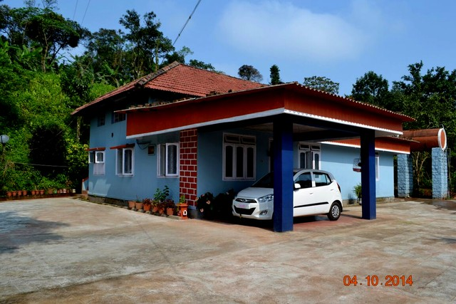 Room accommodation in the heart of Western Ghats