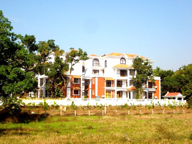 2 BHK furnished AC apartment