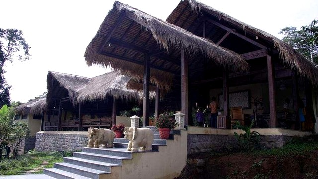 AC Swiss Cottage stay in a resort at Sakleshpur